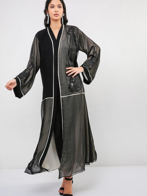 Embellished Abaya-MAHA ABAYAS