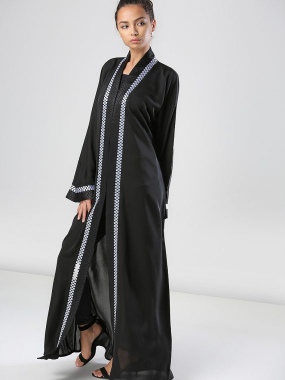 Embroidered Abaya-Haya
