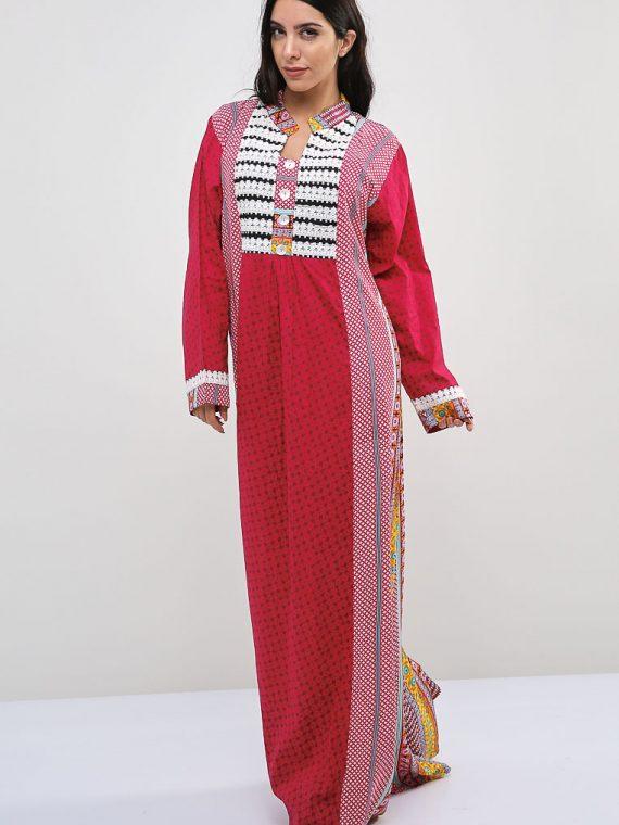 Harlequin-Nature Inspired Jalabiyas-Sara Arabia