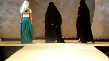 Hijab centre fashion show