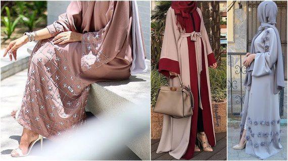 Dubai Rich Colorful Abaya Trend (Burqa) – 2018