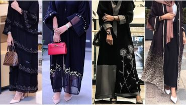 Dubai Rich Stylish Abaya Trend (Burqa) Designs – 2018